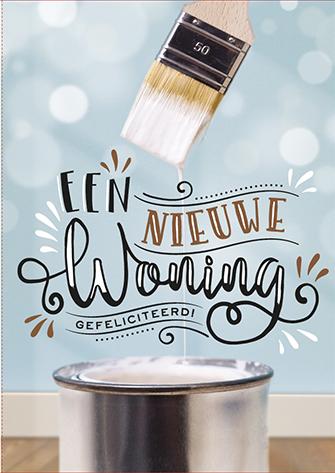 The Written Image Wenskaart Nieuwe Woning