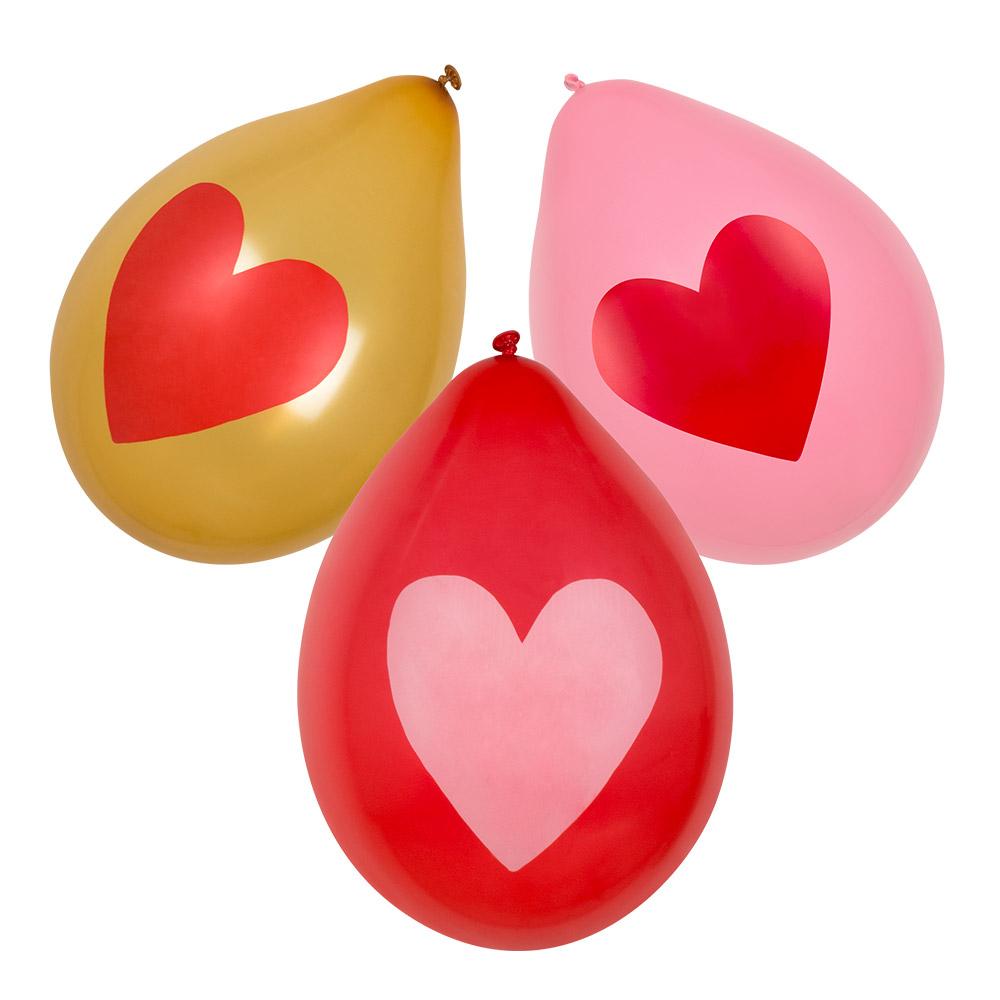 """6st Ballonnen Love 10"""""""