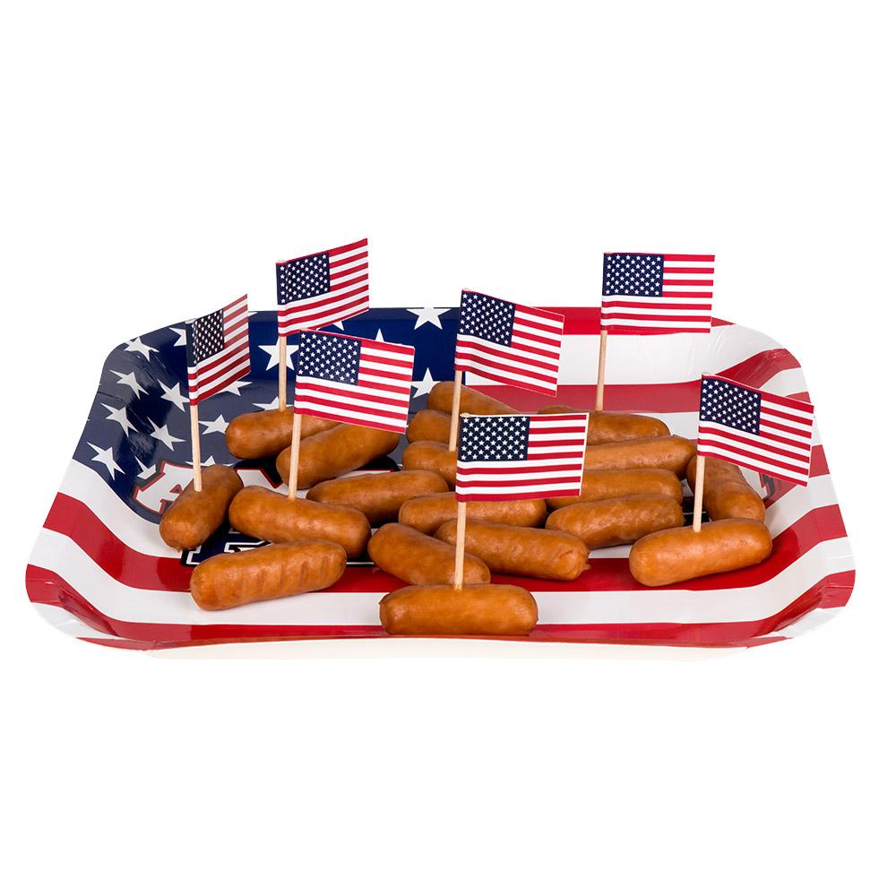 24st Prikkertjes Vlag Amerika 7cm