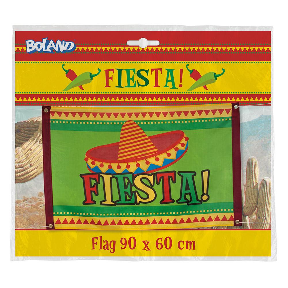 Vlag Fiesta Mexico 60x90cm