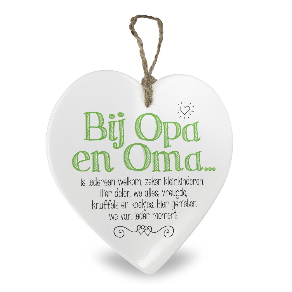 Hartje voor jou Opa & Oma
