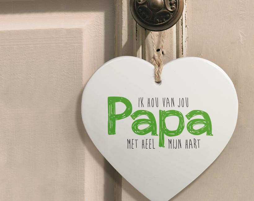 Hartje voor jou Papa
