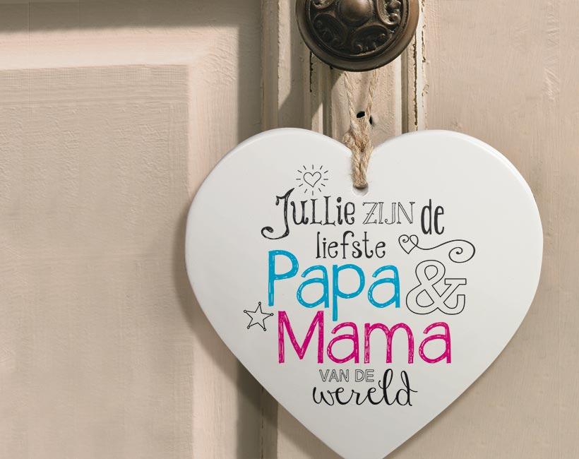 Hartje voor jou Papa & Mama
