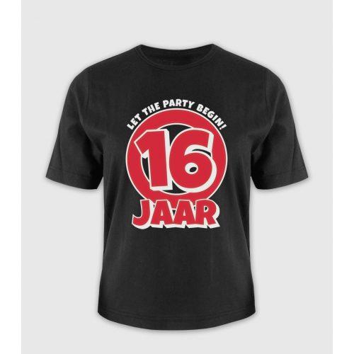 Leeftijd T-Shirt 16 Jaar