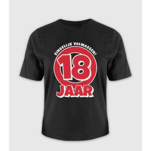 Leeftijd T-Shirt 18 Jaar