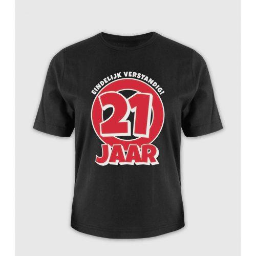 Leeftijd T-Shirt 21 Jaar