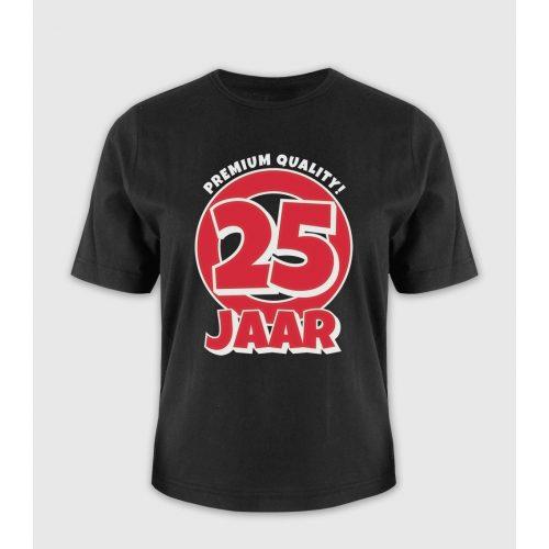 Leeftijd T-Shirt 25 Jaar
