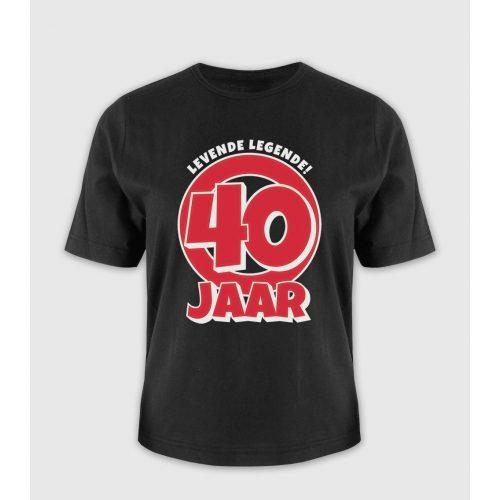 Leeftijd T-Shirt 40 Jaar