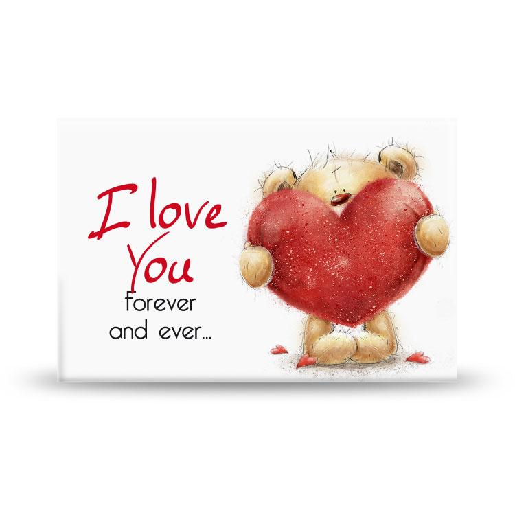 Magneet I Love You Beren
