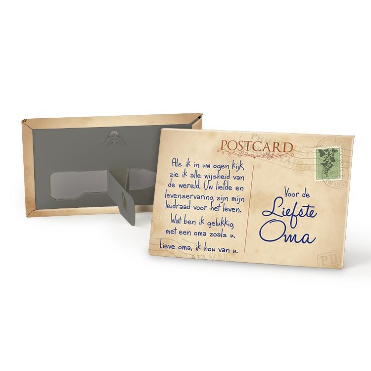 Magneet Liefste Oma Postkaart