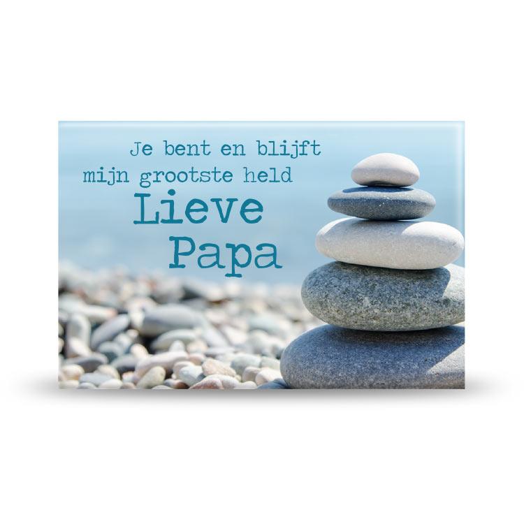 Magneet Lieve Papa Fotografisch