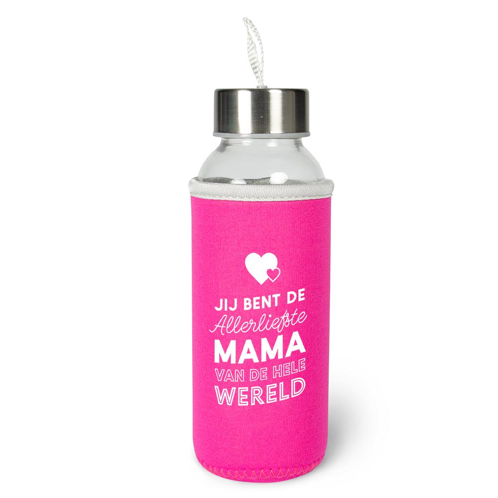 Waterfles Allerliefste Mama