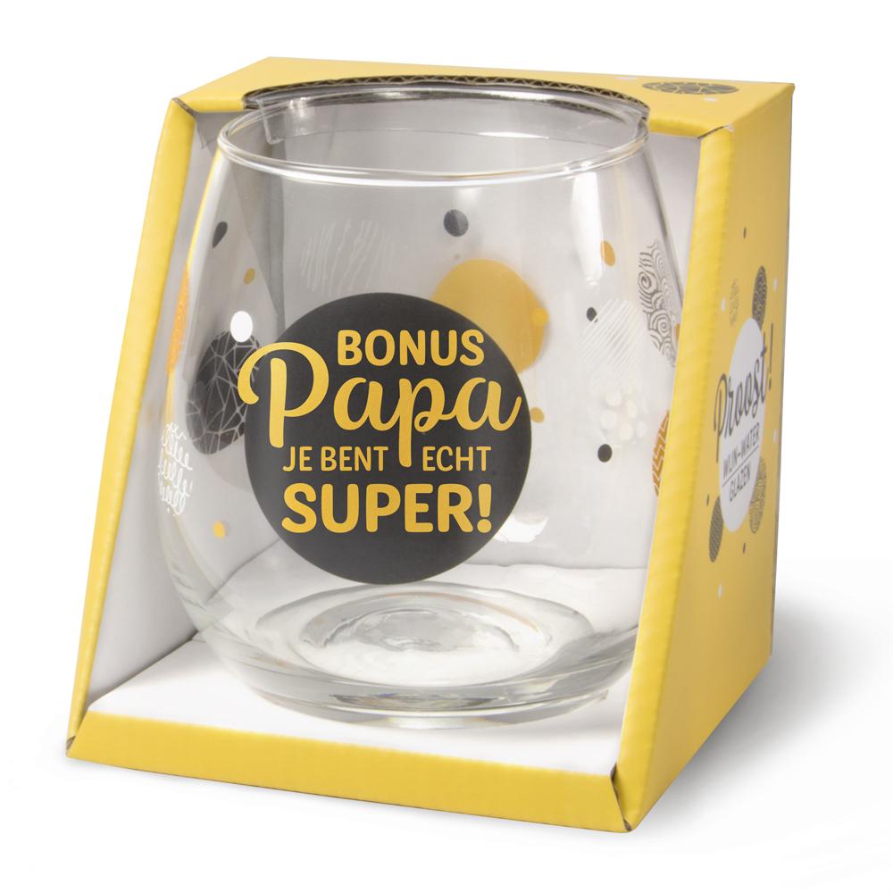 Waterglas Bonus Papa