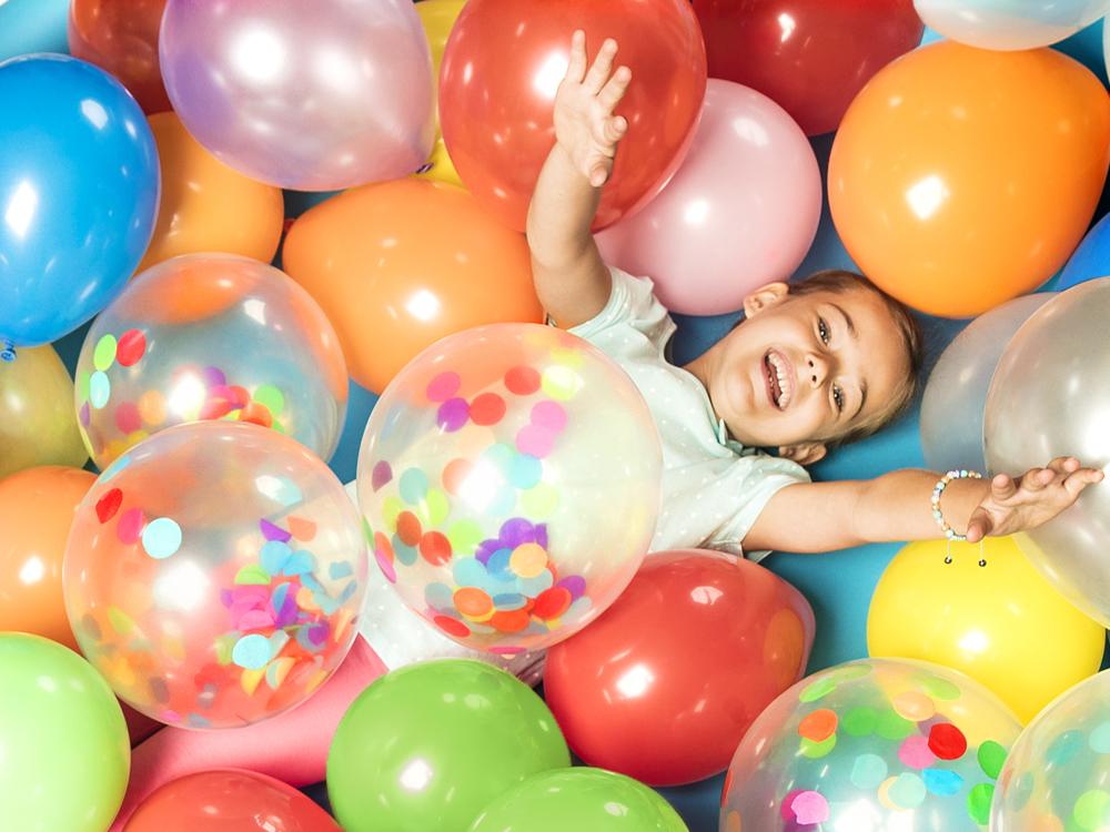 Latex ballonnen gekleurd