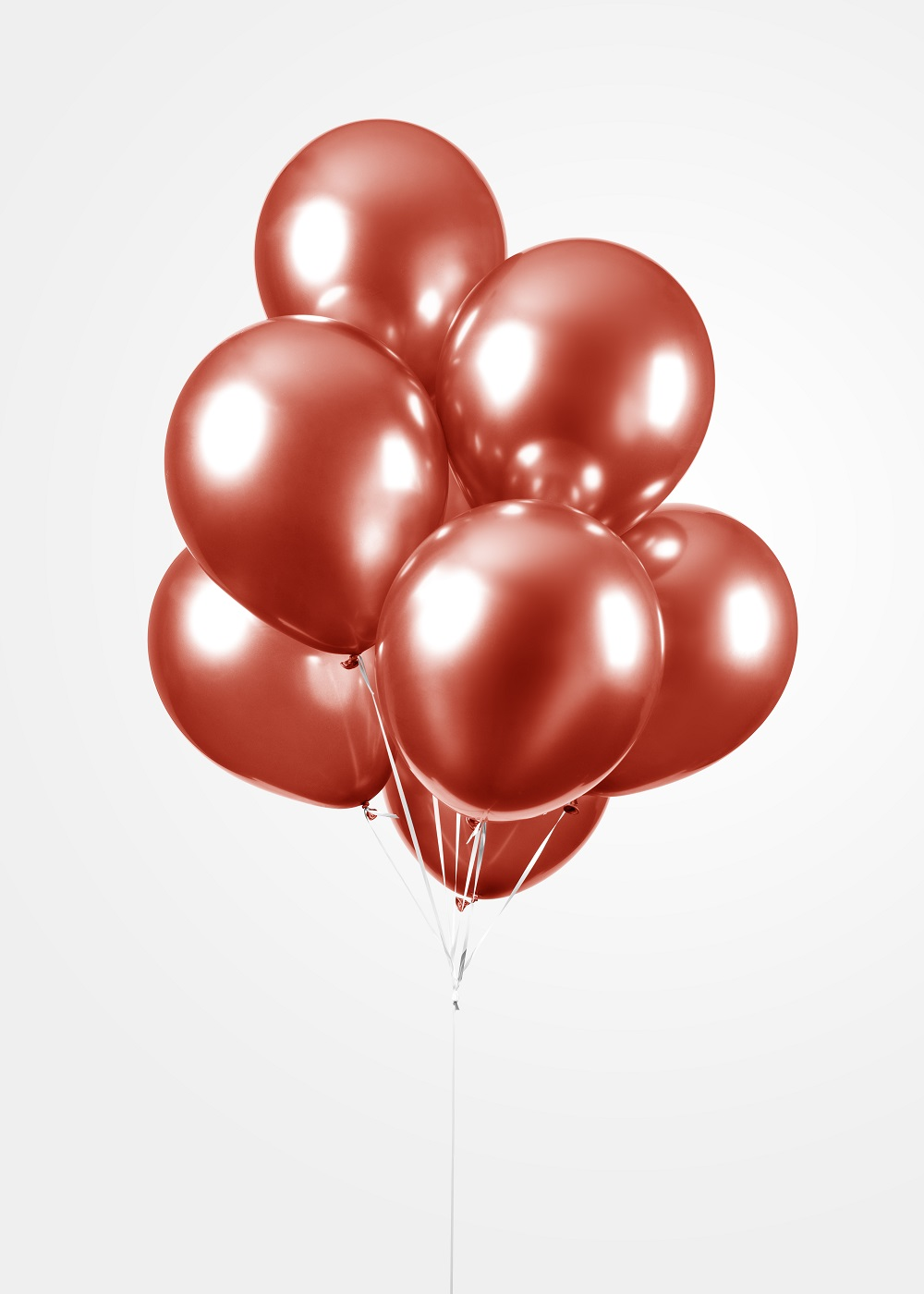"""100st Chrome Ballonnen Rood 12"""""""