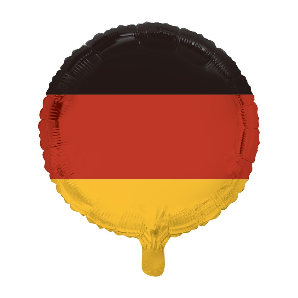 Folieballon Duitse Vlag 46cm