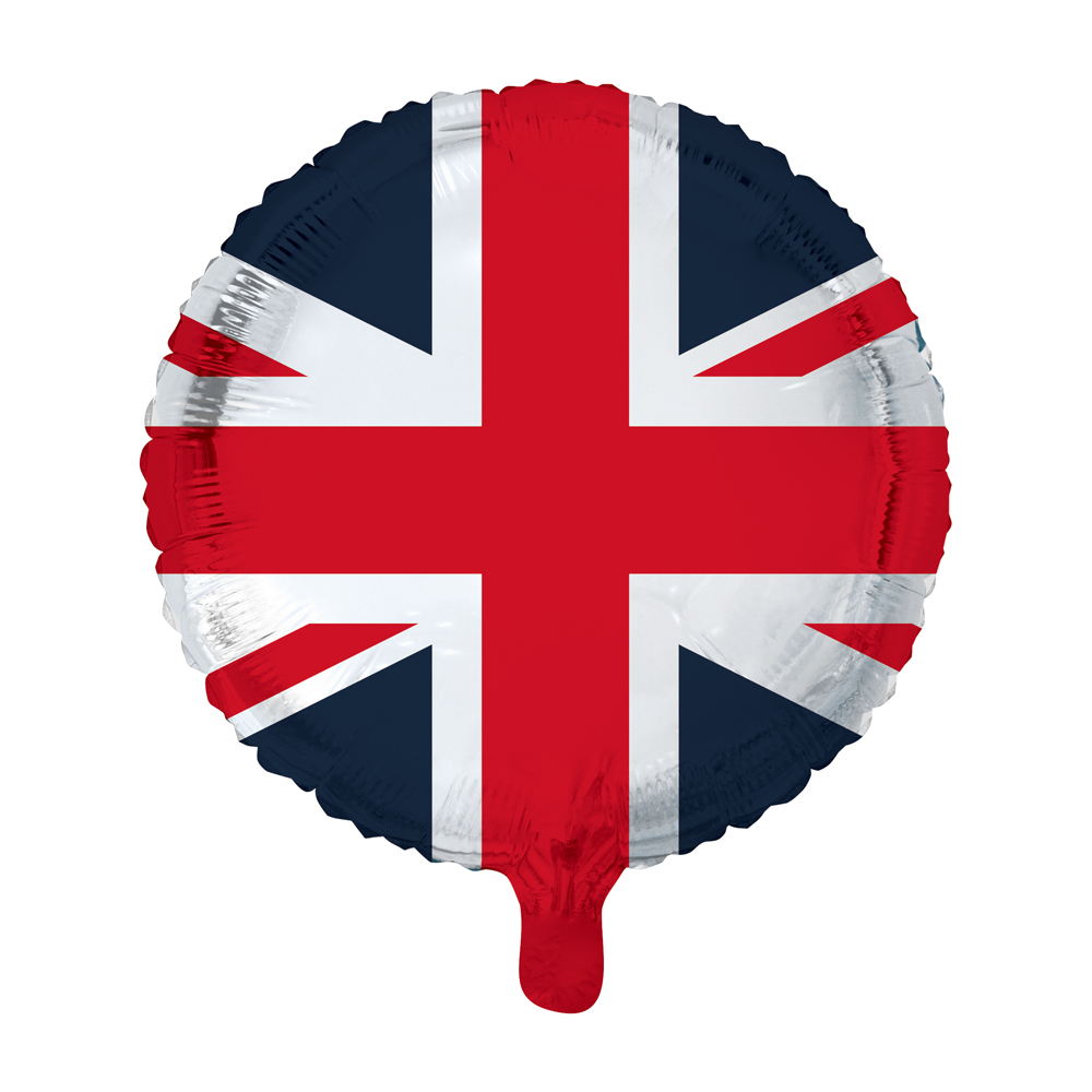 Folieballon Engelse Vlag 46cm