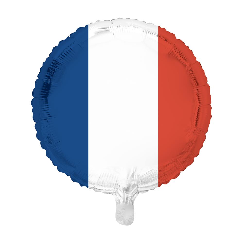 Folieballon Franse Vlag 46cm