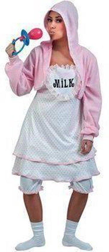 Kostuum Baby Roze Dames One Size