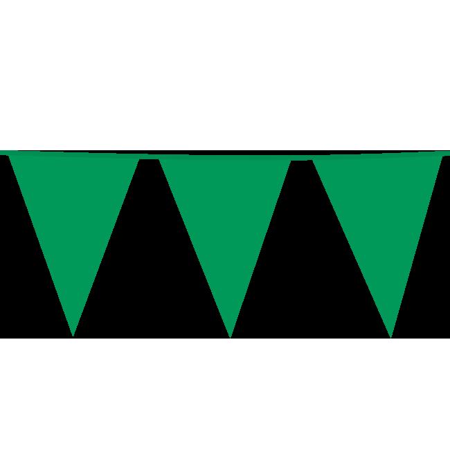10m Maxi Vlaggenlijn Uni Groen