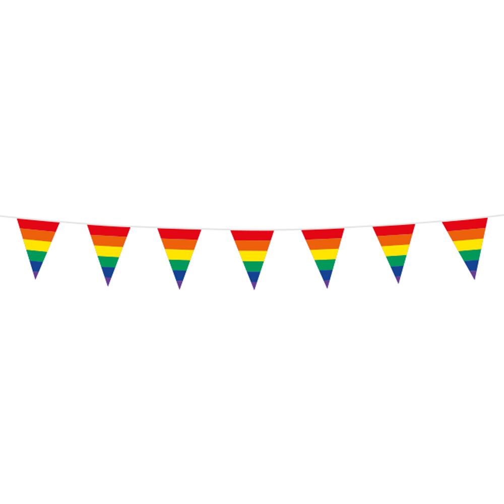 3m Mini Vlaggenlijn Regenboog