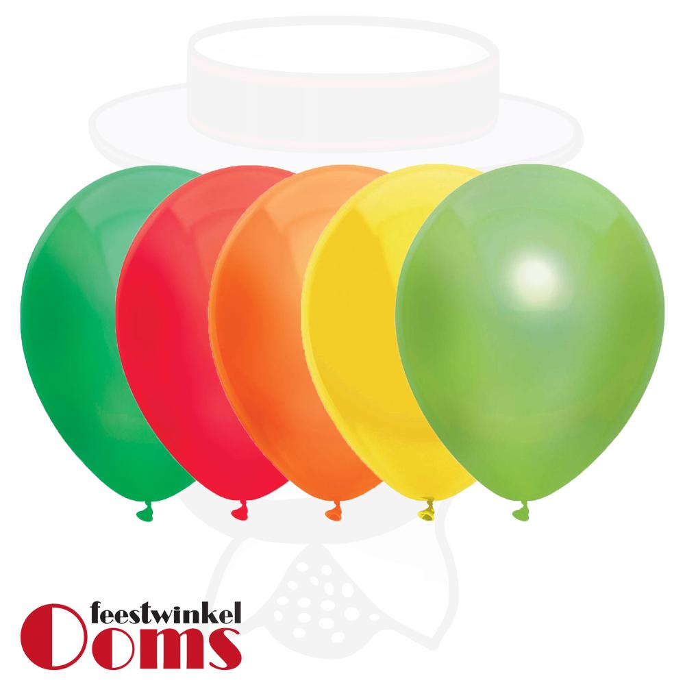 "25st Pastel Ballonnen Fiesta Mexico 12"""