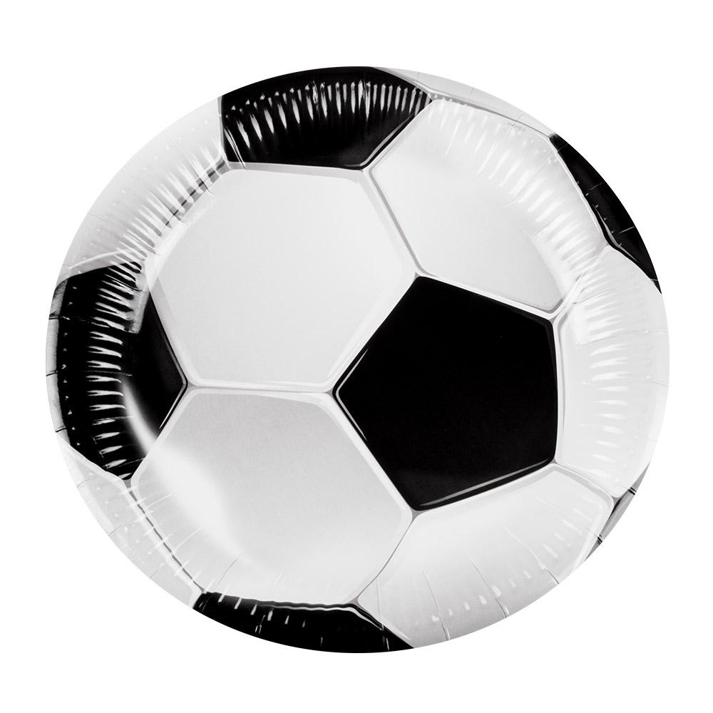 6st Bordjes Voetbal 23cm
