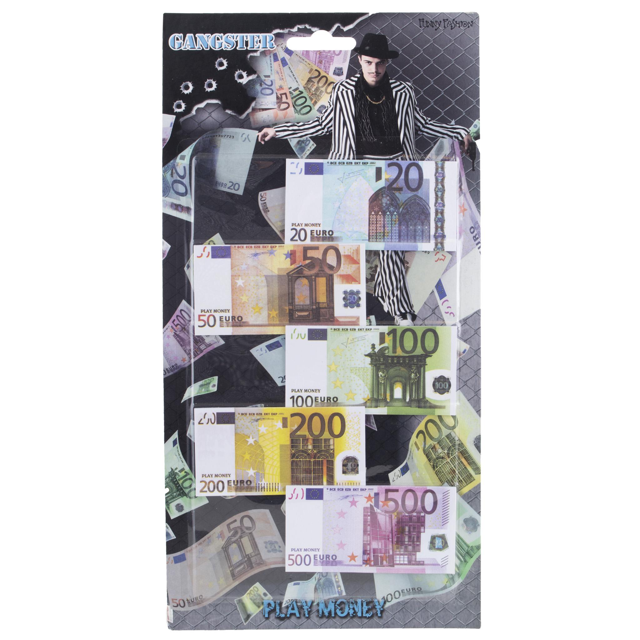Euro Speelgeld Biljetten
