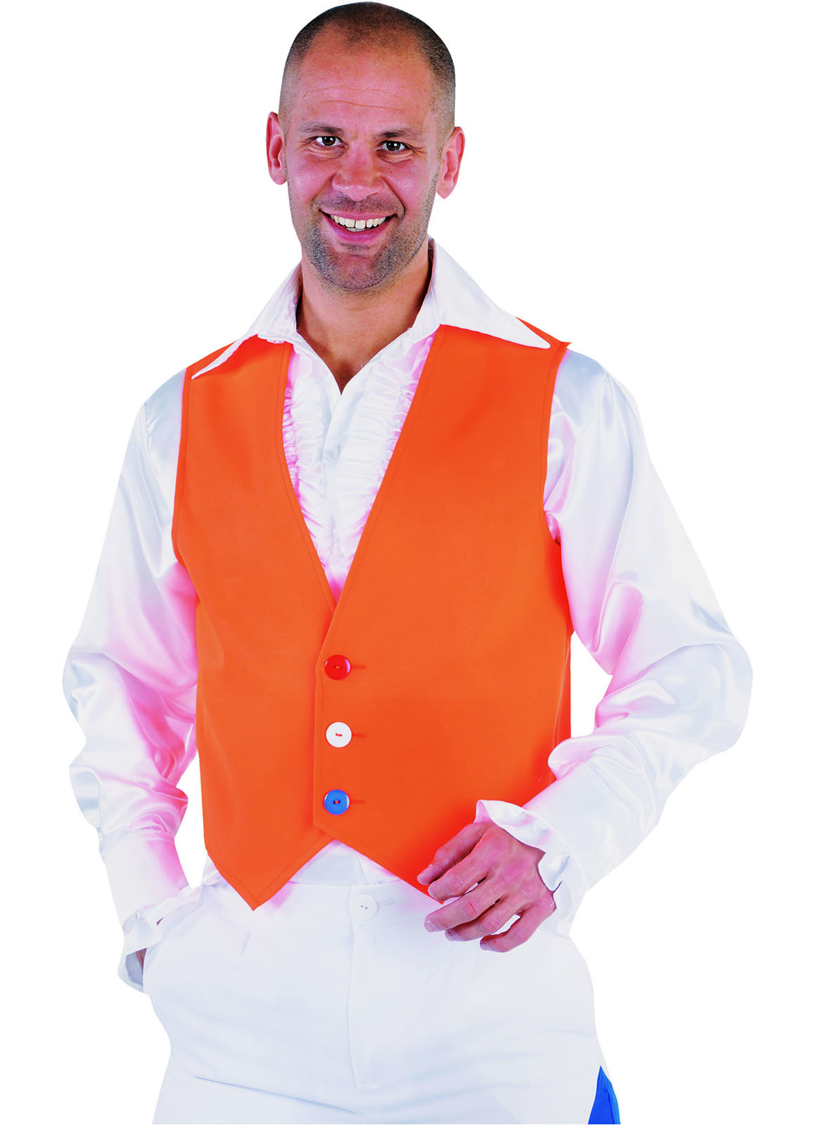 Gilet Oranje Fluor/Neon Heren
