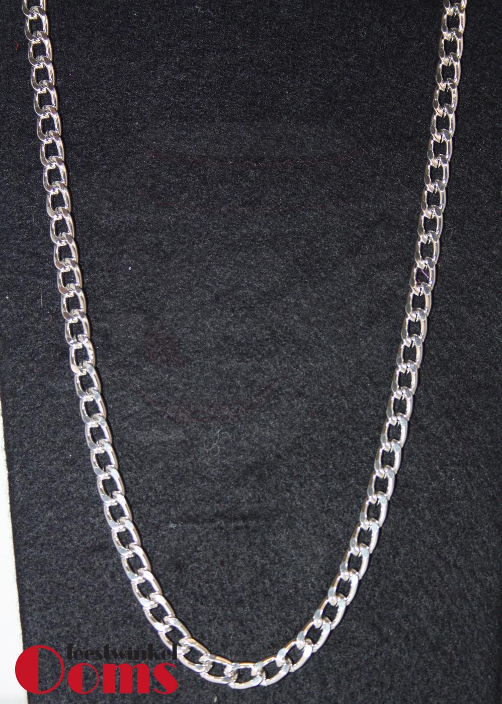 Ketting Zilver Middel 60cm