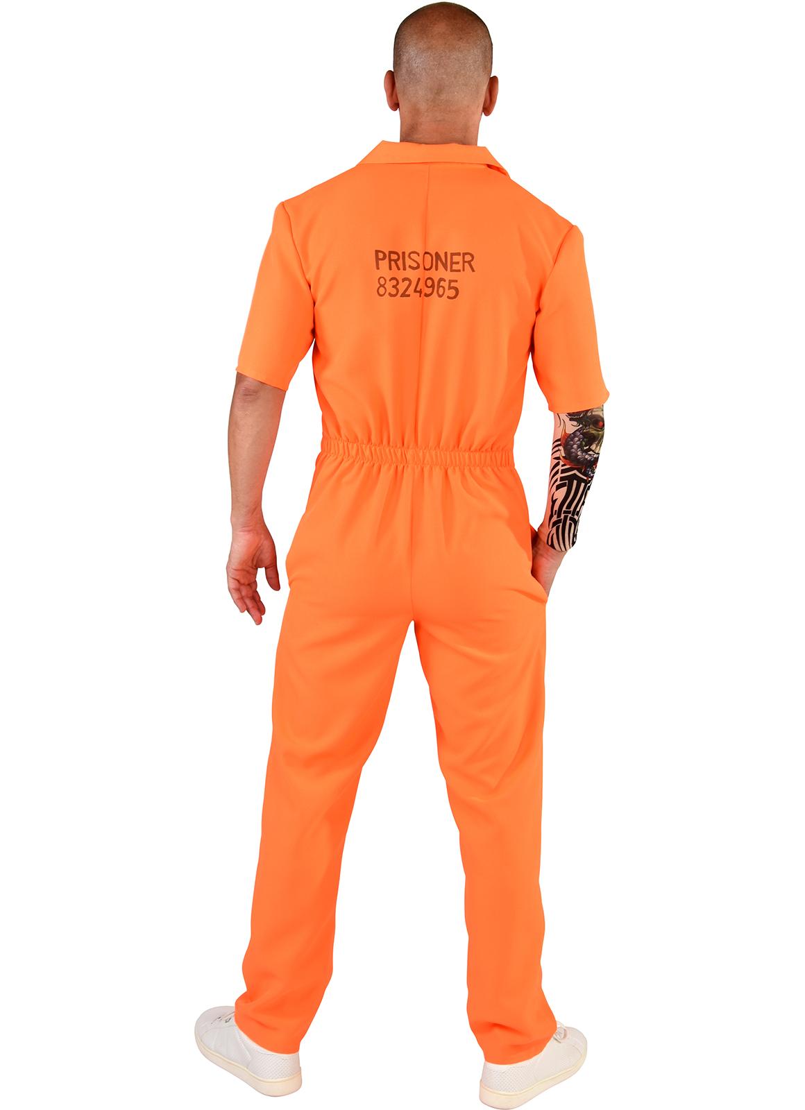 Overall Boef Oranje Volwassen