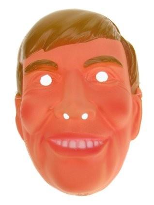 Plastic Masker Willem Alexander