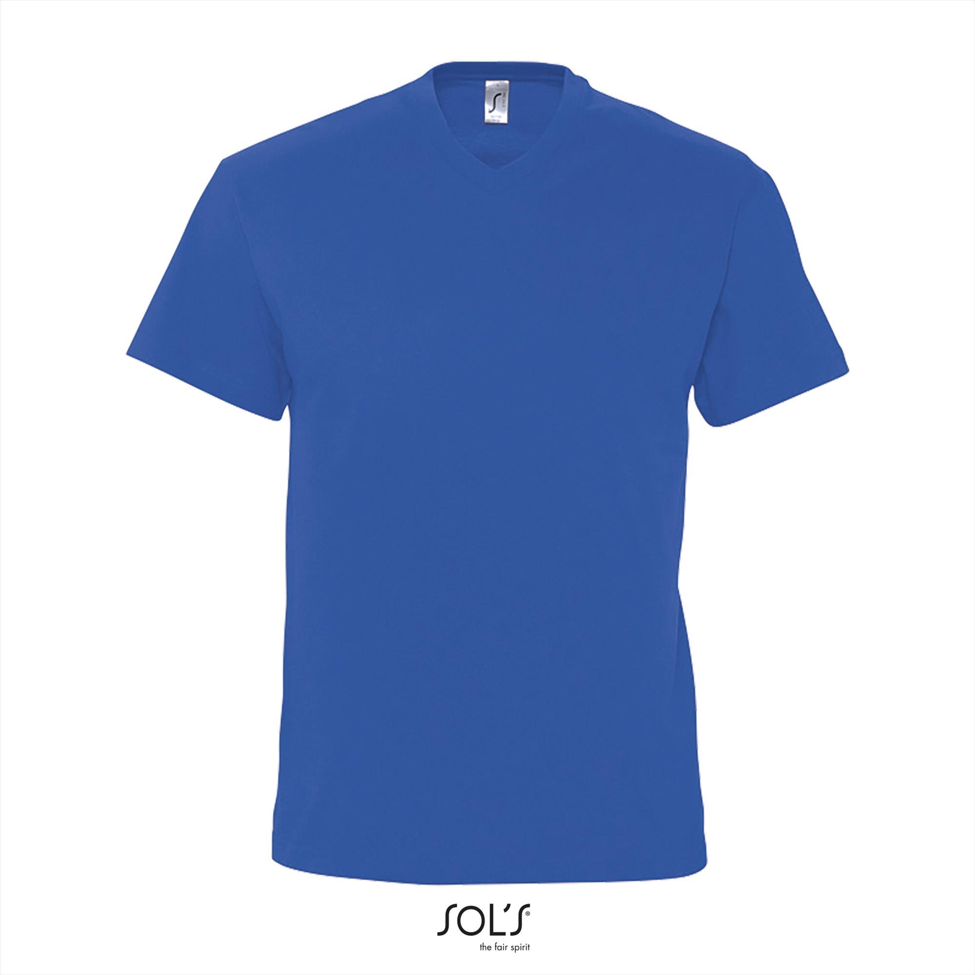 T-Shirt Victory Uni Blauw Heren