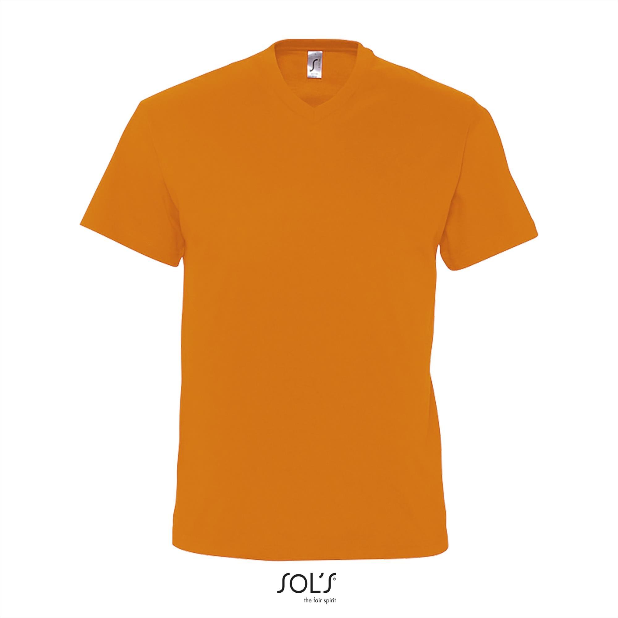 T-Shirt Victory Uni Oranje Heren