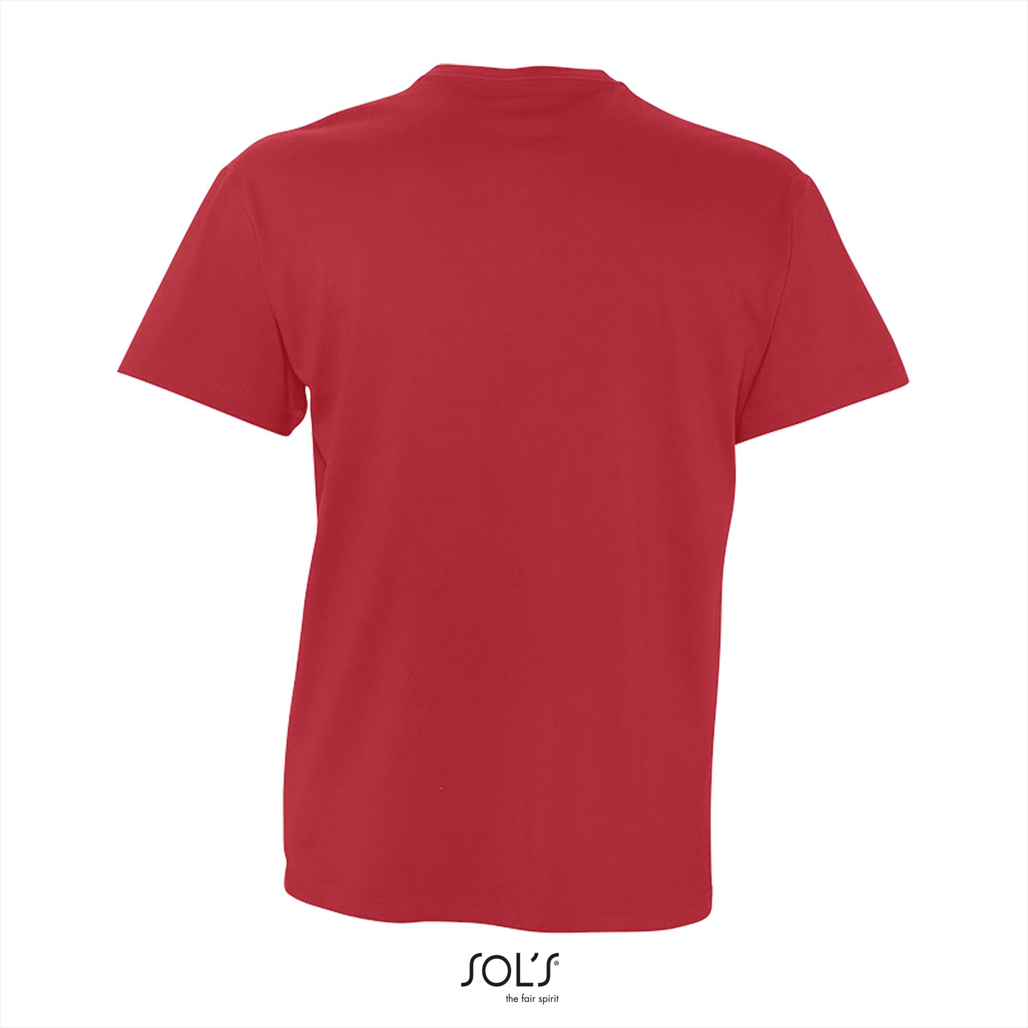 T-Shirt Victory Uni Rood Heren