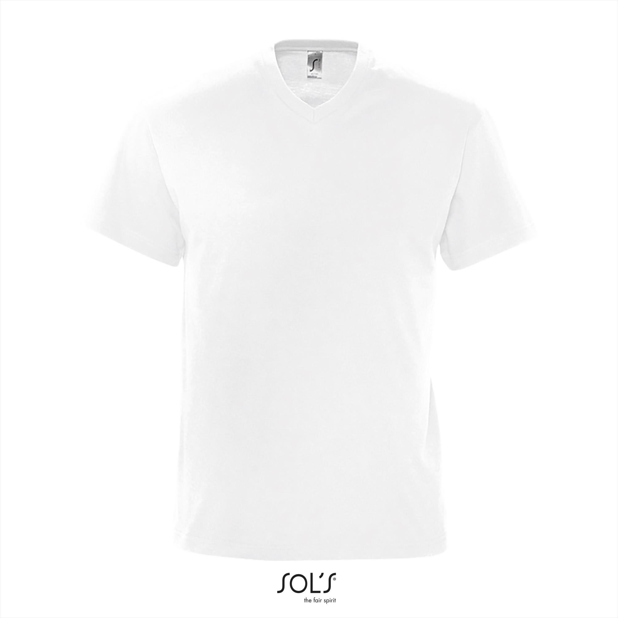T-Shirt Victory Uni Wit Heren