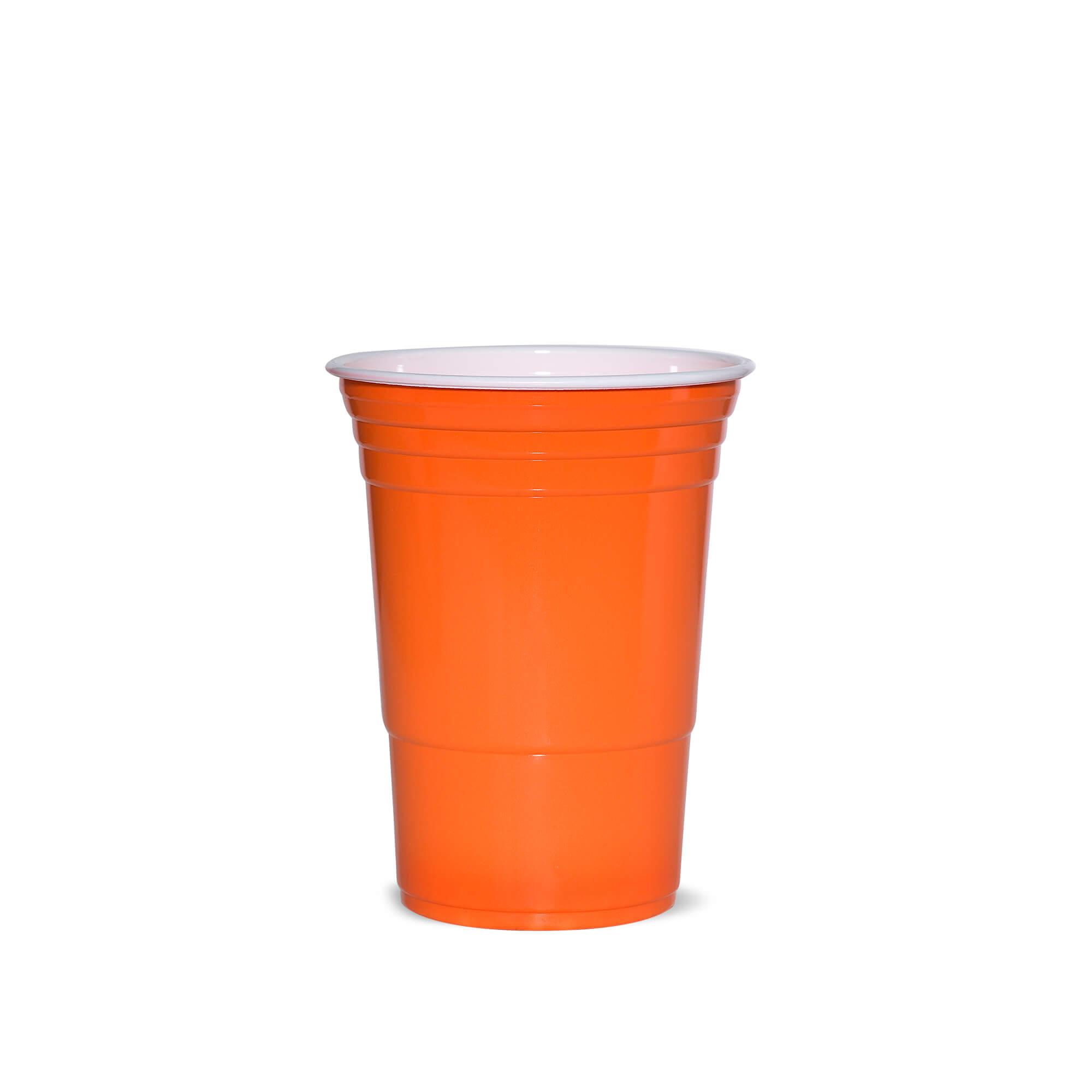 American Cups Oranje 473ml 25stuks