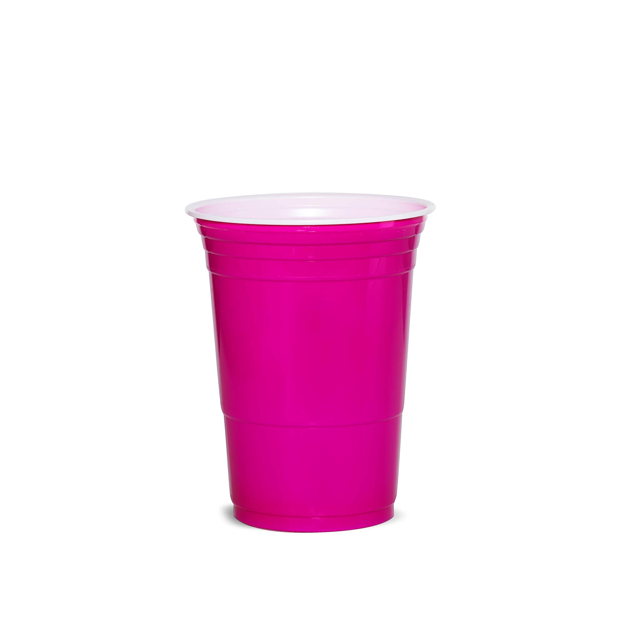 American Cups Roze 473ml 25stuks