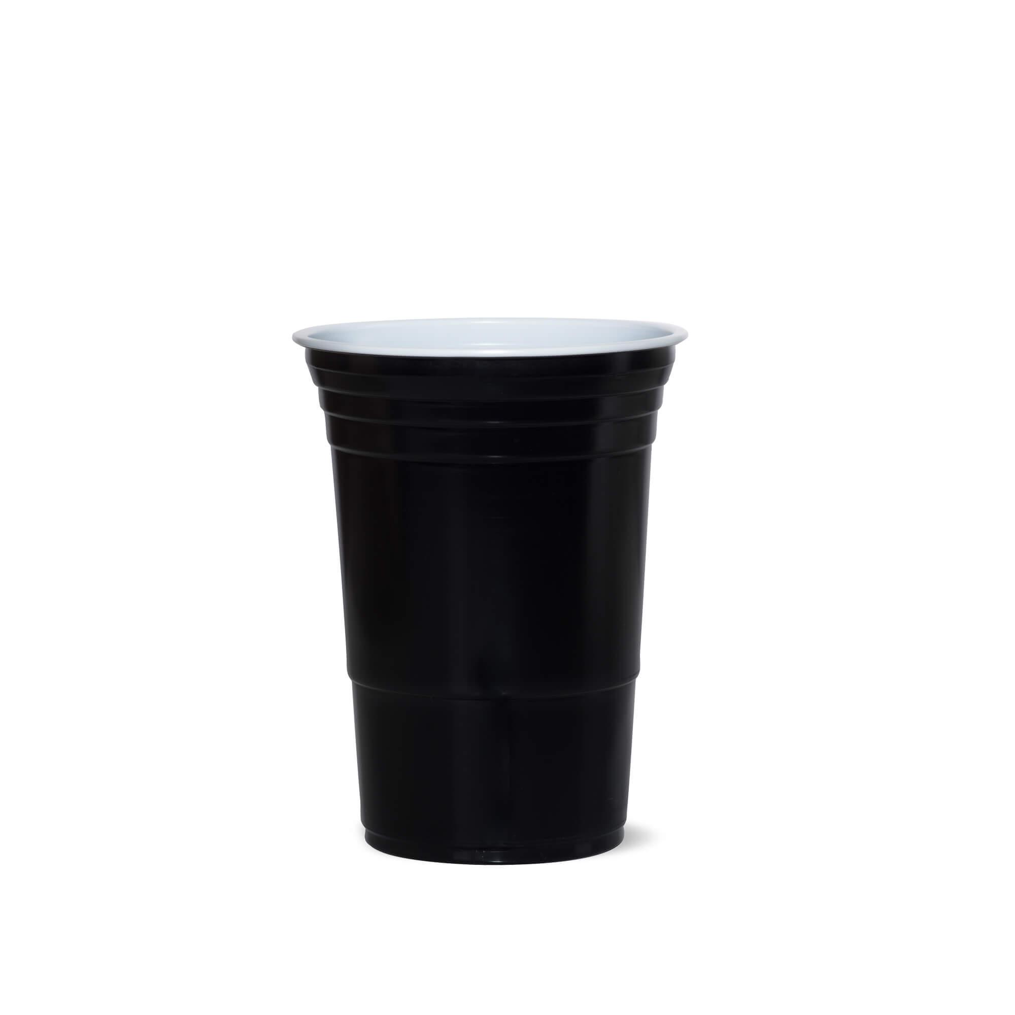 American Cups Zwart 473ml 25stuks