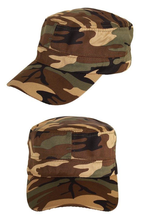Dames Pet/Cap Camouflage