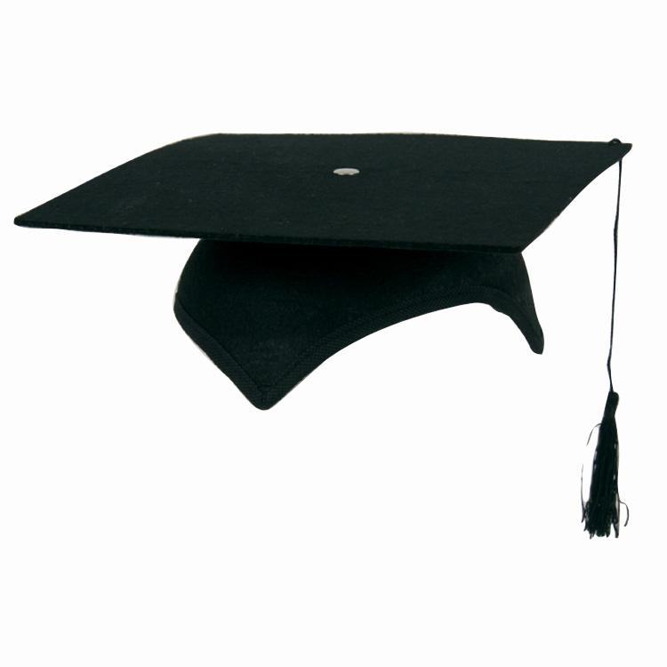 Geslaagd/Prof./Studenten Hoed (Hard)
