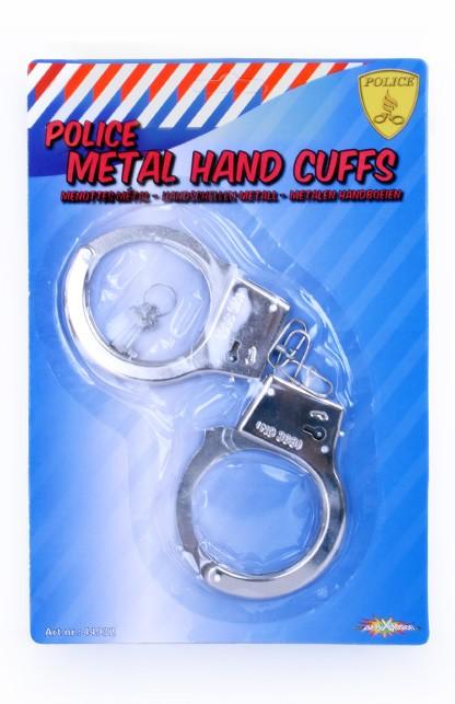Handboeien Metaal Zilver