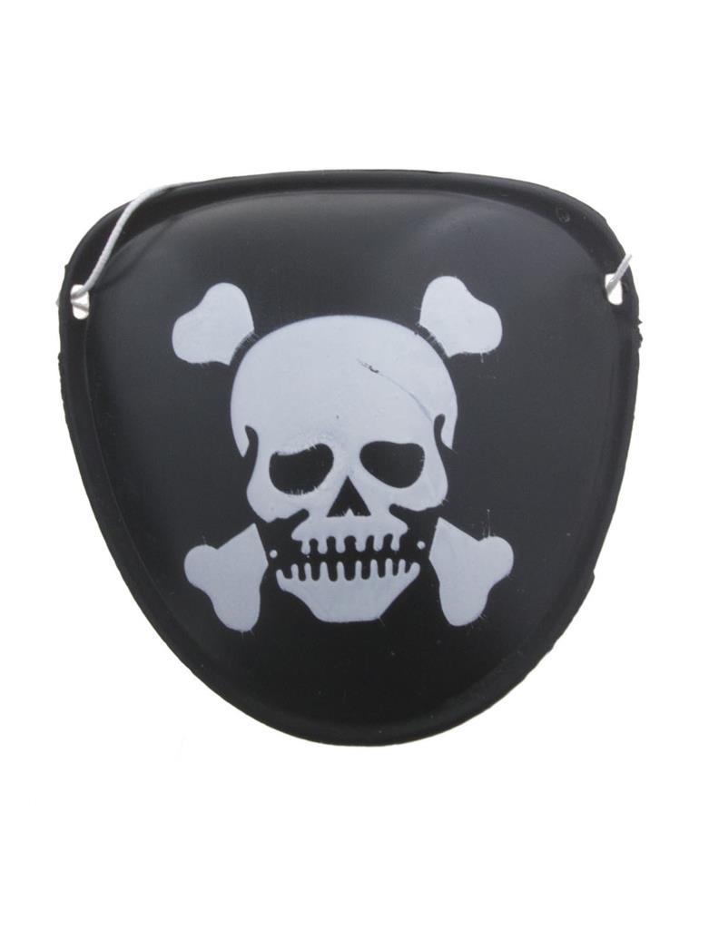 10st Ooglapjes Piraat met Opdruk