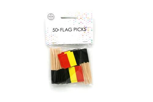 50st Prikkertjes Vlag België