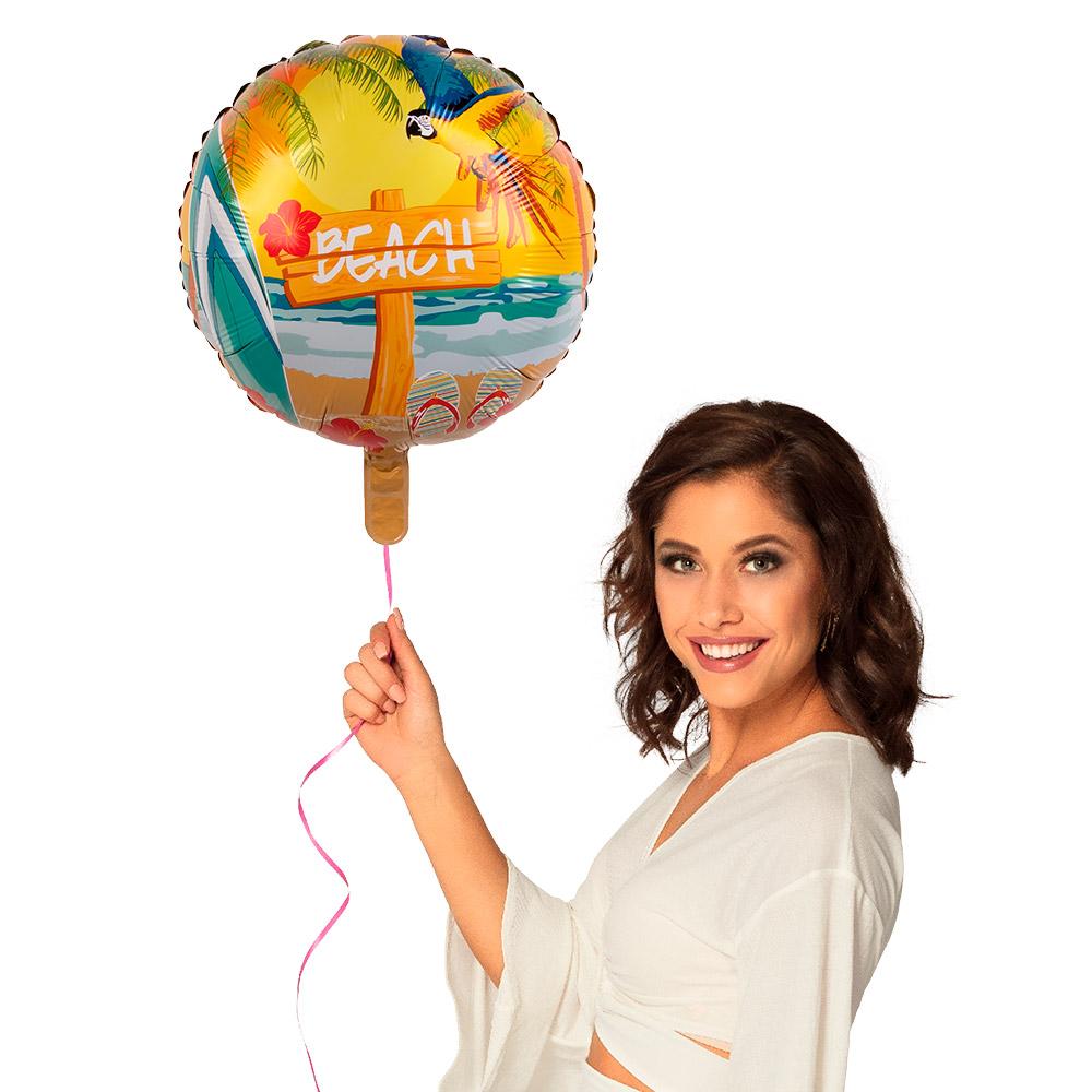 Folieballon Beach 45cm