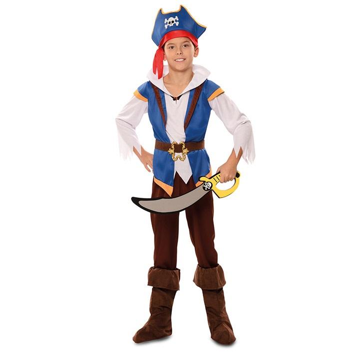 Kostuum Avontuurlijke Piraat Jongen