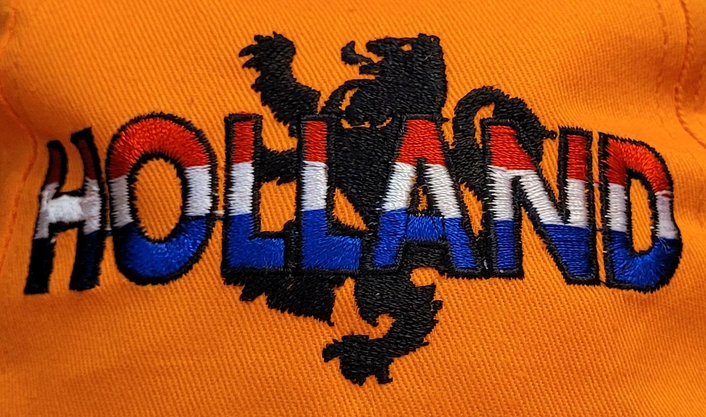 Oranje Cap Holland Leeuw