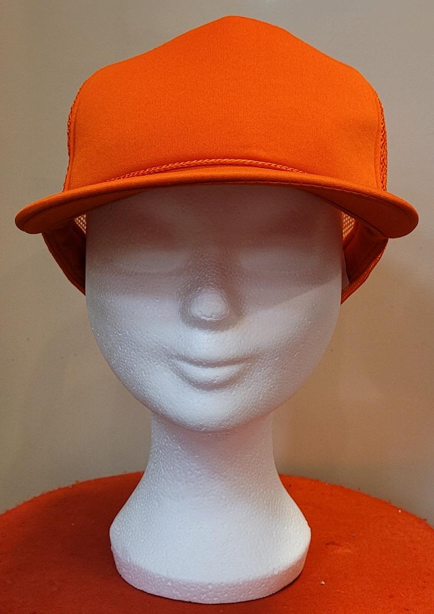 Oranje Cap Uni Gaas