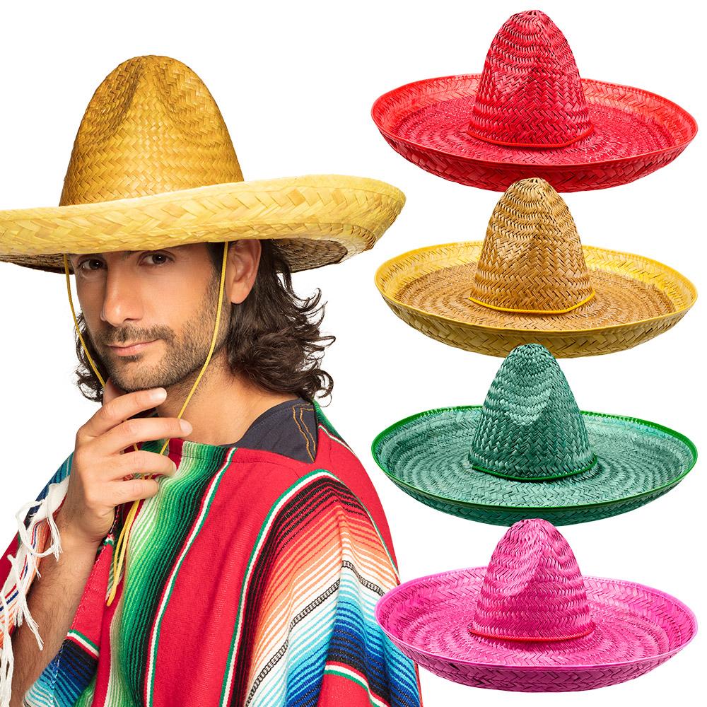 Sombrero Santiago Assortiment 50cm
