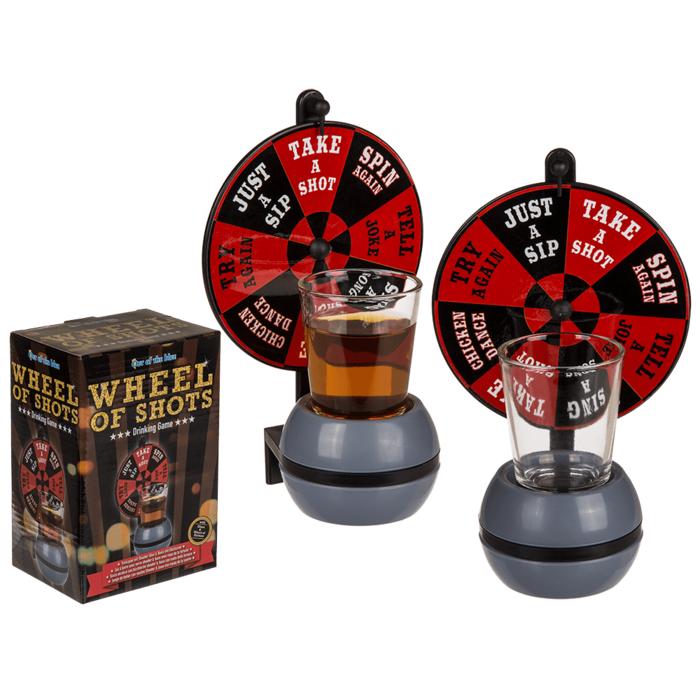 Drankspel Wheel of Shots